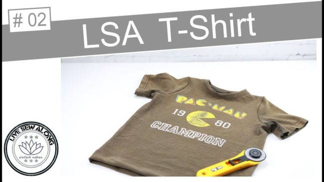 Livesewalong Upcycling T-Shirt