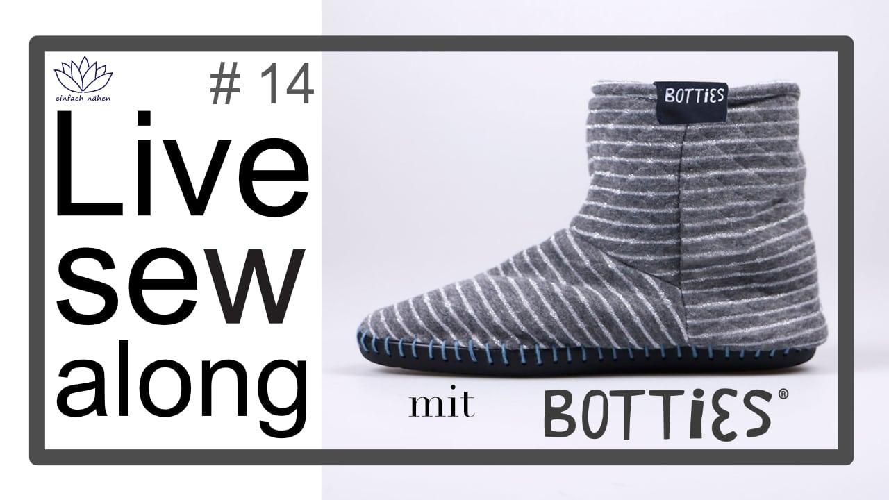 Livesewalong | Wir nähen Schuhe – mit Isa und Jessy von Botties