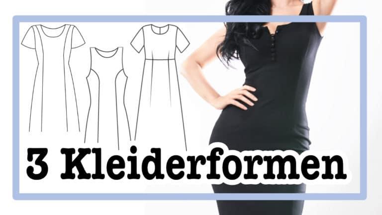 Kleider mit Teilungsnähten, die deine Weiblichkeit unterstreicht | einfach nähen - Tipps und Tricks rund ums Nähen für Anfänger und Fortgeschrittene