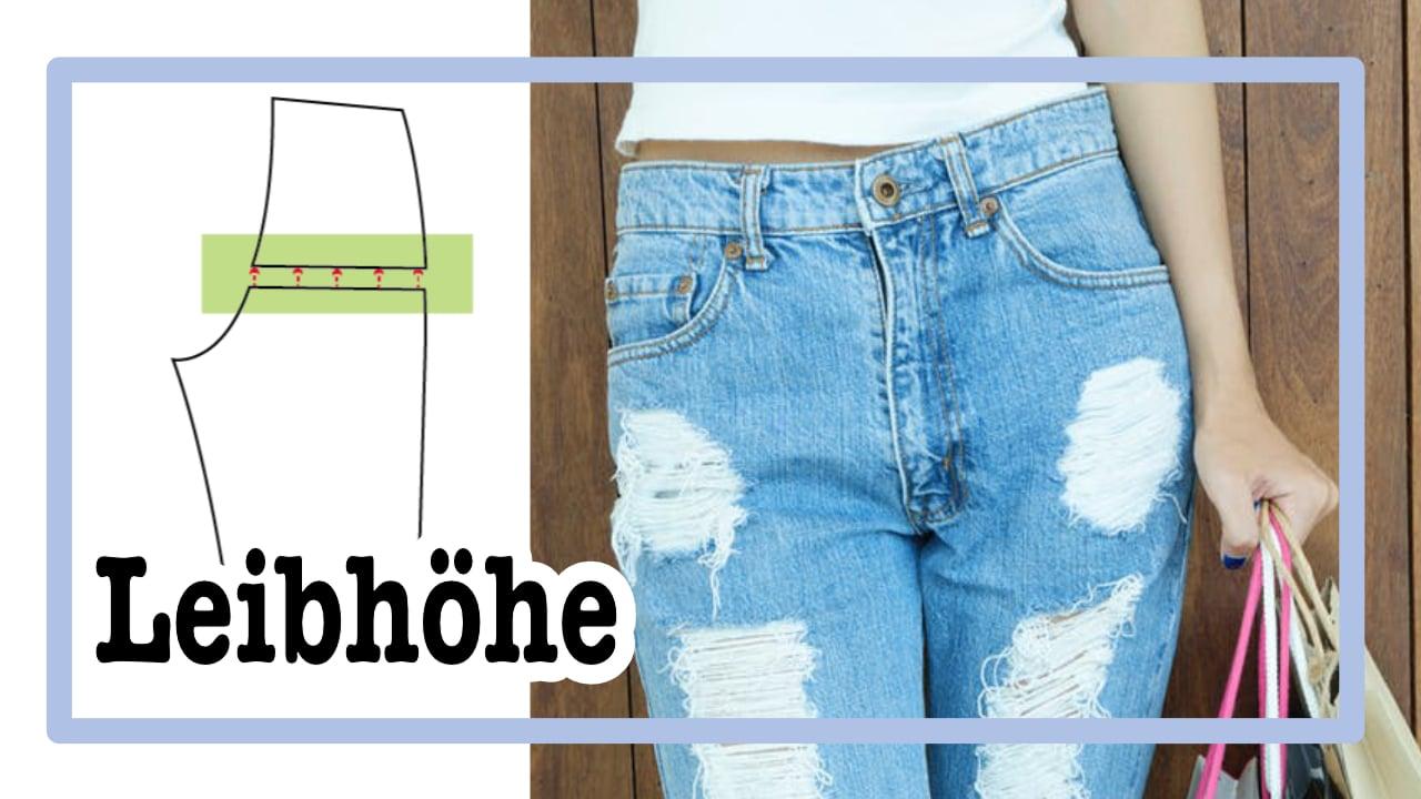 In 3 Schritten die Leibhöhe anpassen | Hose zu hoch oder zu tief?