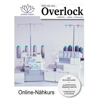 Overlock-Nähkurs einfach nähen