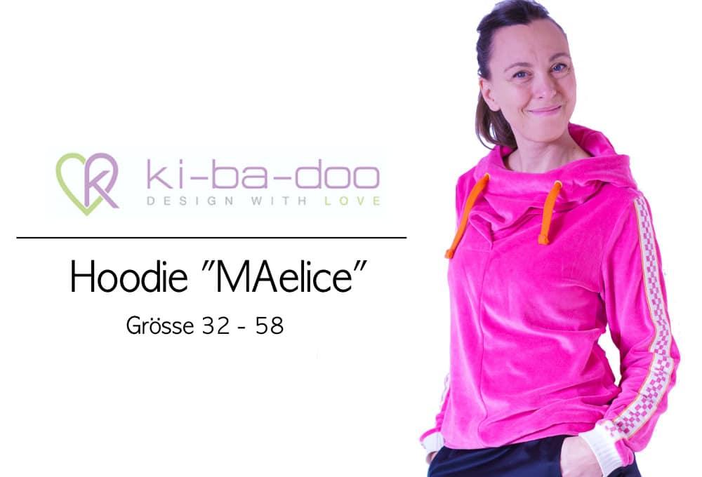 Hoodie MAelice KiBaDoo | einfach nähen lernen