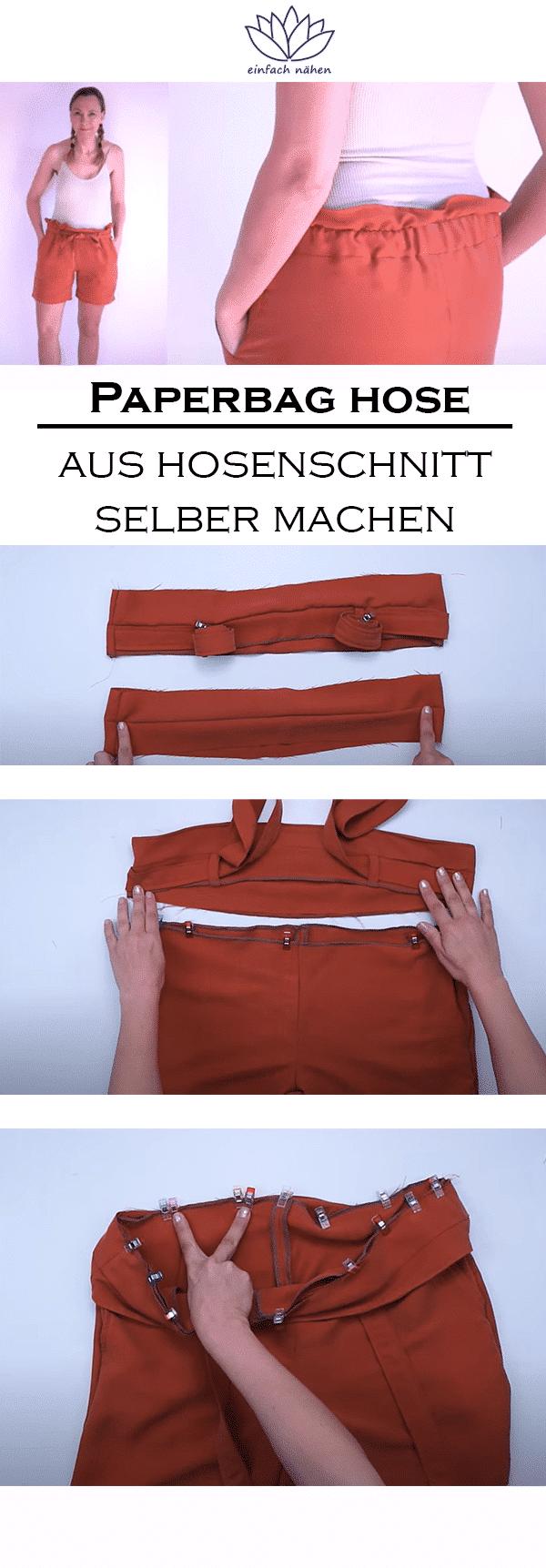 Paperbag | einfach nähen lernen