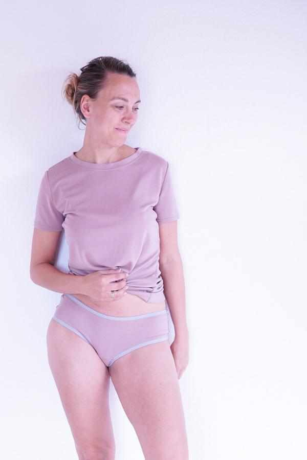 Slip Basicshirt Fanéla |einfach nähen lernen