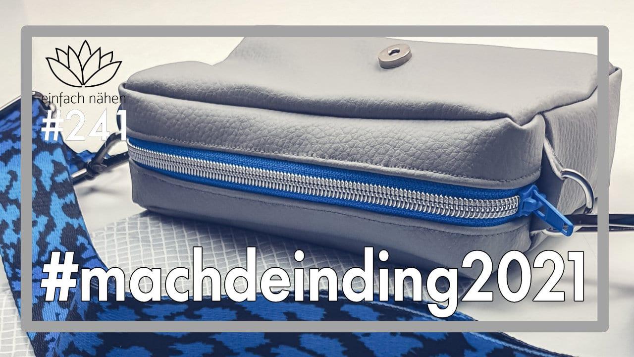#machdeinding2021 einfach nähen lernen