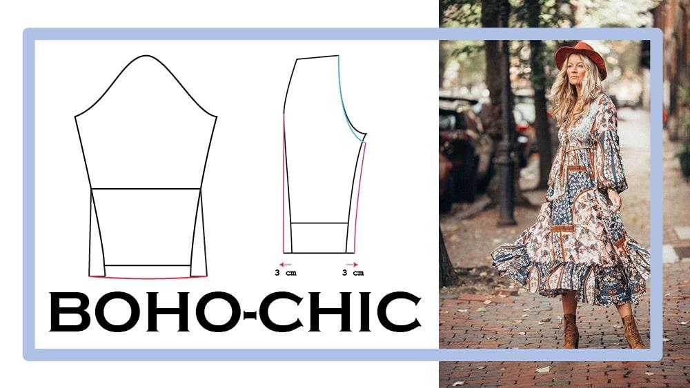 Boho Chic | einfach nähen lernen mit einfach nähen