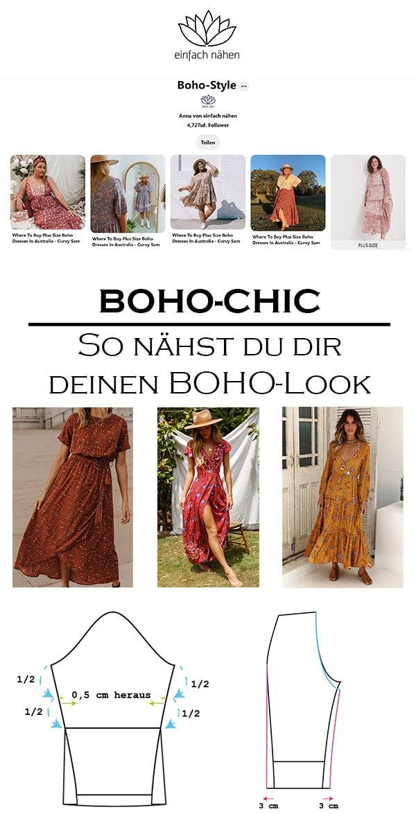 Boho Chic   einfach nähen lernen mit einfach nähen