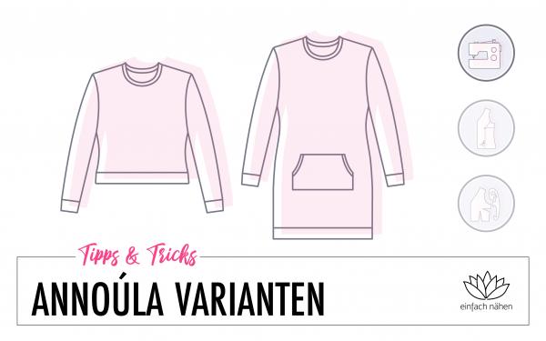 Sweatshirt Annoúla - Unzählige Variationen | einfach nähen lernen